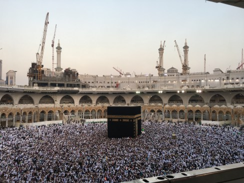I broke down into tears the moment I saw the Kaabah right in front of my eyes.