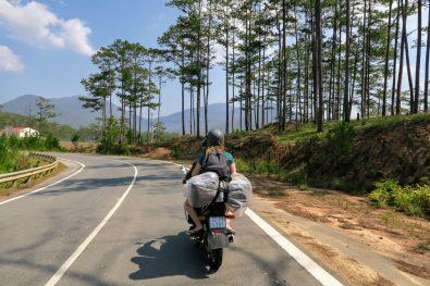 On the way from Dalat to Nha Trang