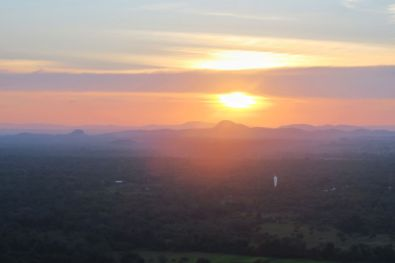 Sigiriya at sunset