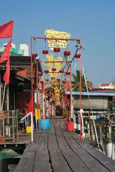 Chinese floating village