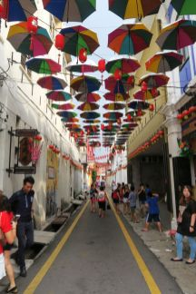 A cool street in Ipoh