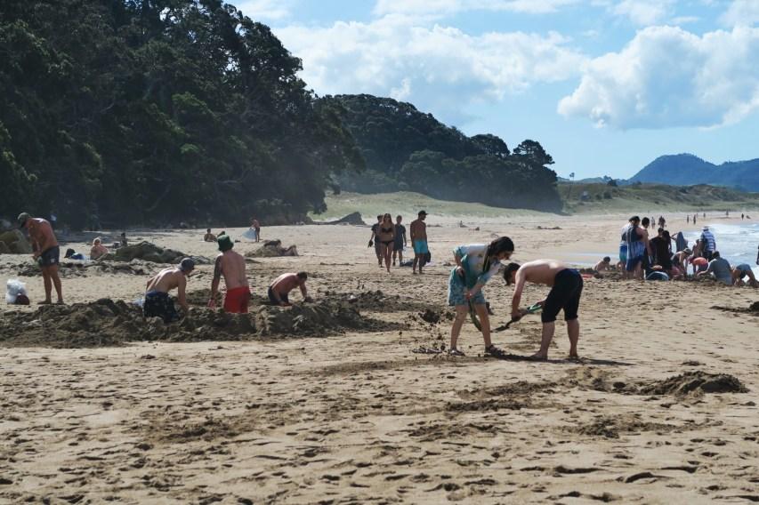 Hot Sand beach