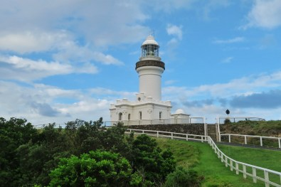 The lighthouse in Byron Bay