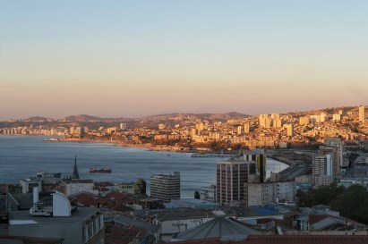 Valparaiso harbour view