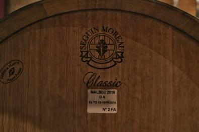 Malbec wine barrel