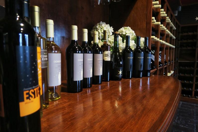 Domiciano's wines