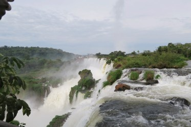 Argentinian side of Iguazu Falls