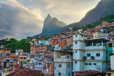 The favela Santa Marta