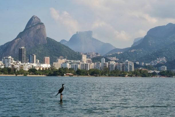 The lagoa in Rio