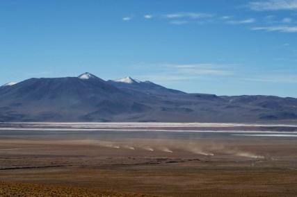 6,000m high mountains