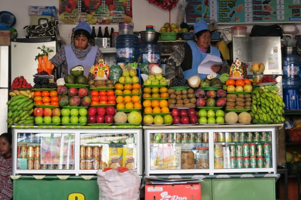 Fruit salad shop