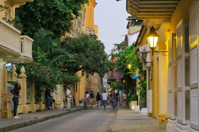 Streets in Cartagena