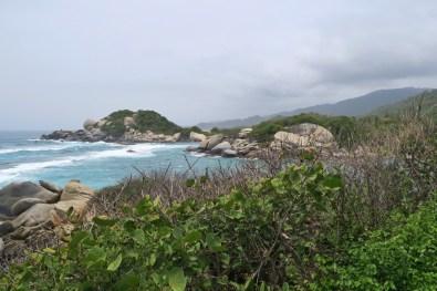 Cabo San Juan in Tayrona National Park