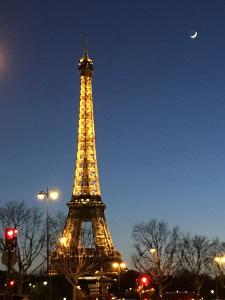 A weekend in Paris Eiffel Tower