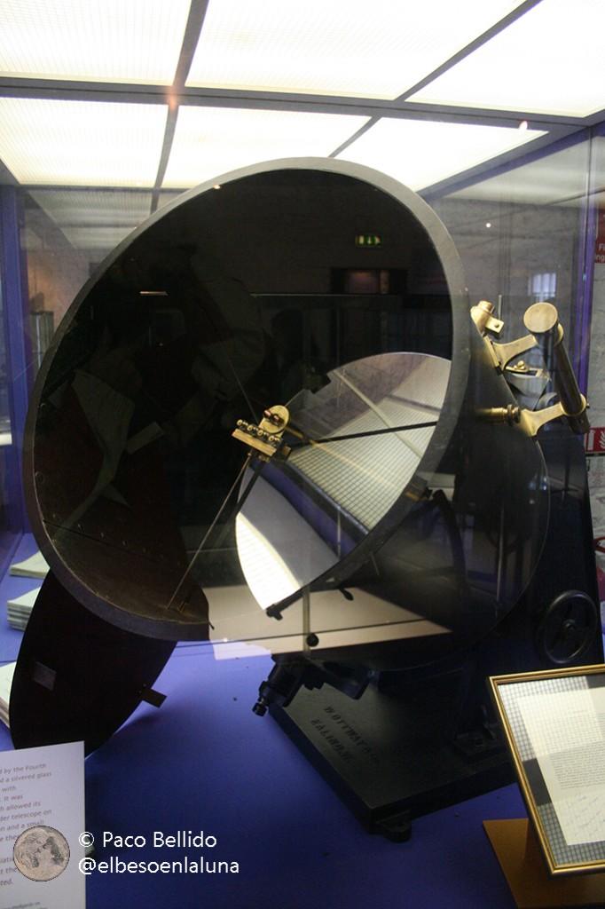 El telescopio que permitió medir la radiación infrarroja de la Luna. Foto: © Paco Bellido