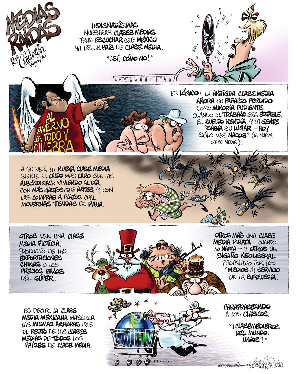 Medias raídas - Calderón