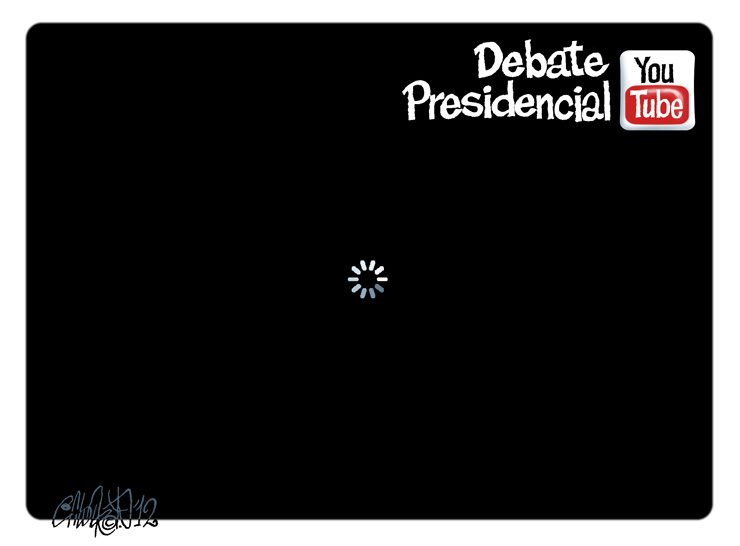 Debate presidencial - Calderón
