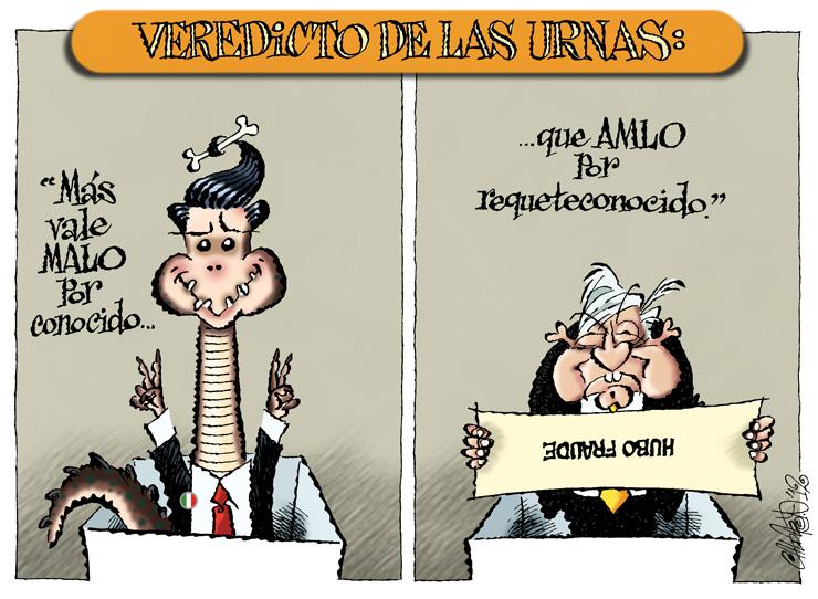 Veredicto de las urnas - Calderón