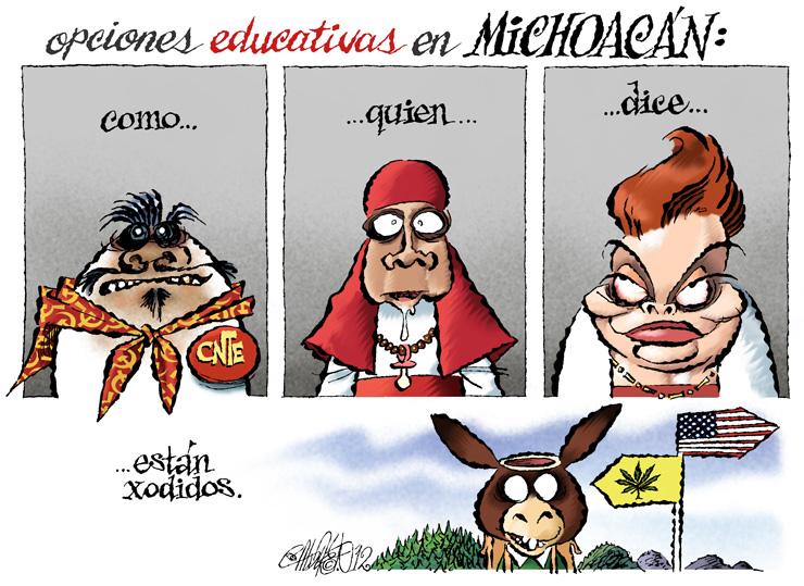 Opciones educativas - Calderón