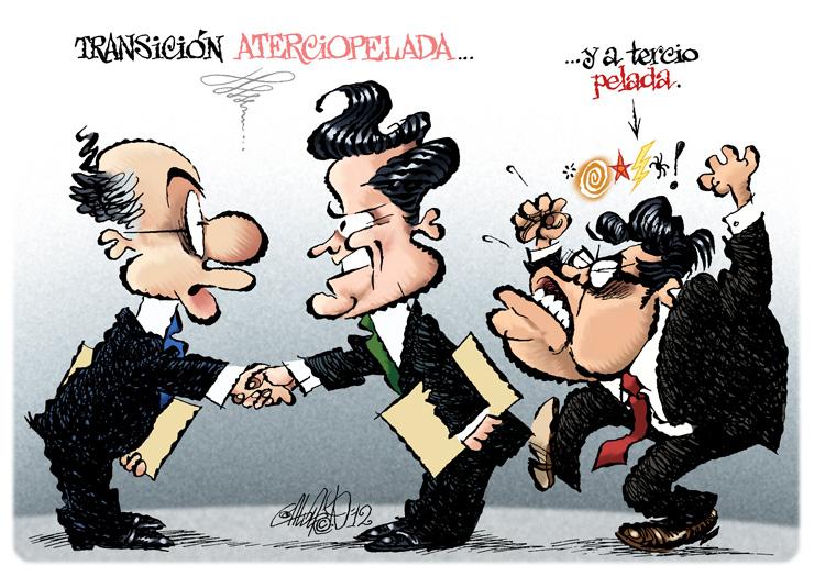 Transición aterciopelada - Calderón