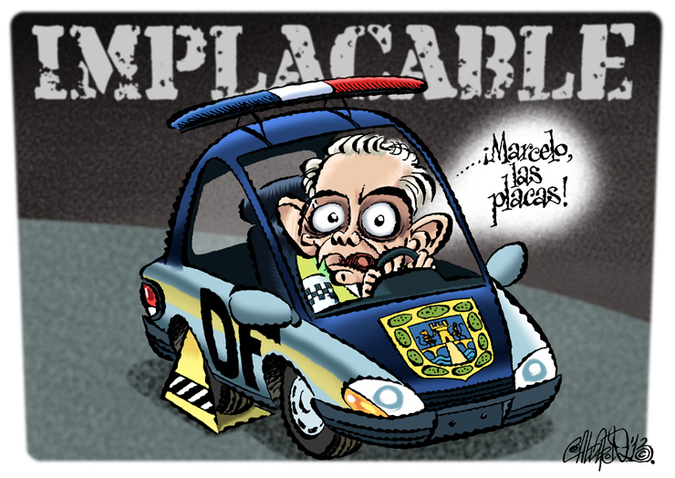 Implacable - Calderón