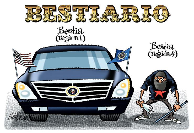Bestiario - Calderón