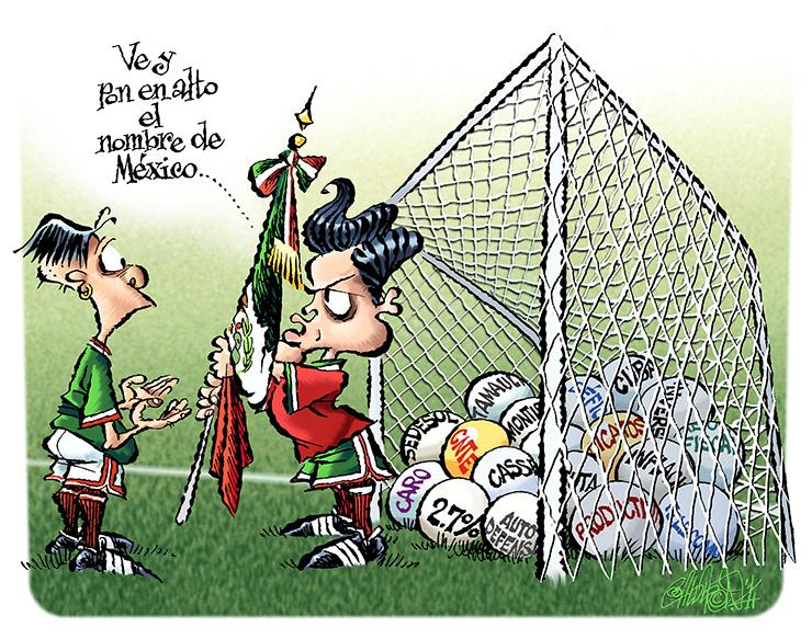 Abanderados - Calderón