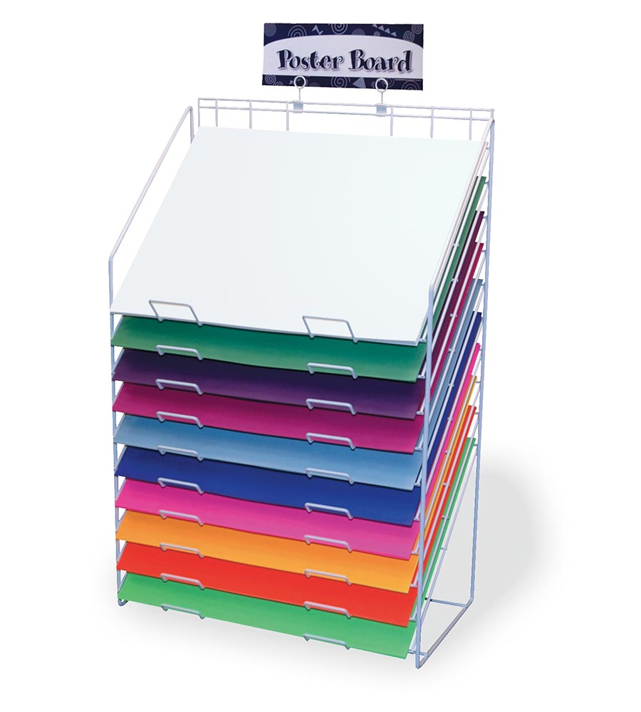 poster board rack pacon creative products