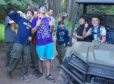 Oljato-Scouts-by-vehicle