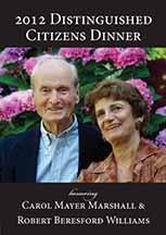2012 Distinguished Citizens Award Dinner invitation