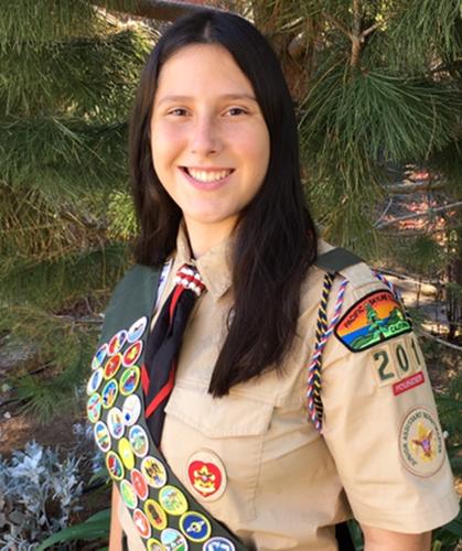 Eagle Scout Sarah M.