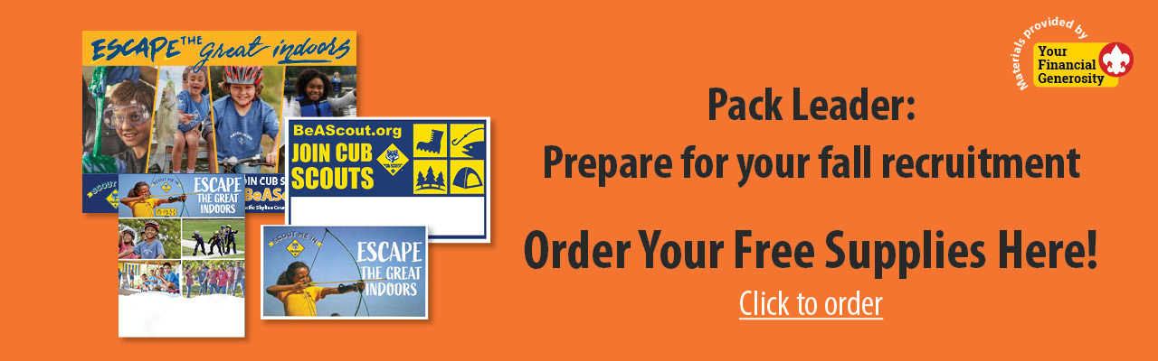 Orange Order Recruitment Materials banner