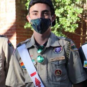 Eagle Scout Zach Graham