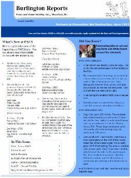 Burlington Reports - June 2011
