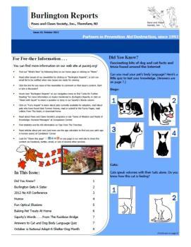 Burlington Reports - October 2012