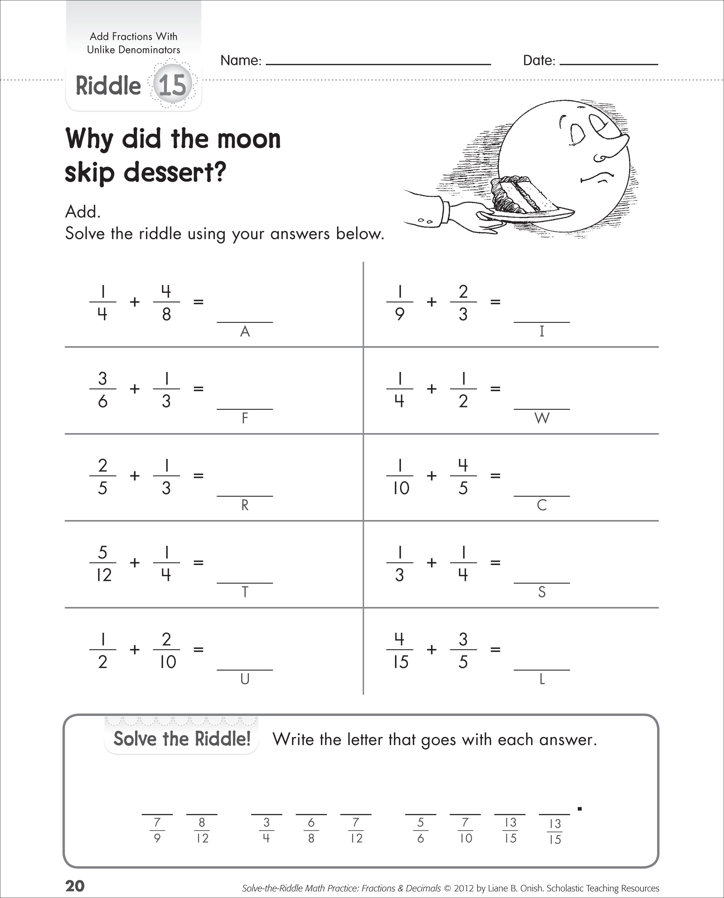 Math Worksheets Fractions Michael Jordan Was Cut From His High School Basketball Team As A