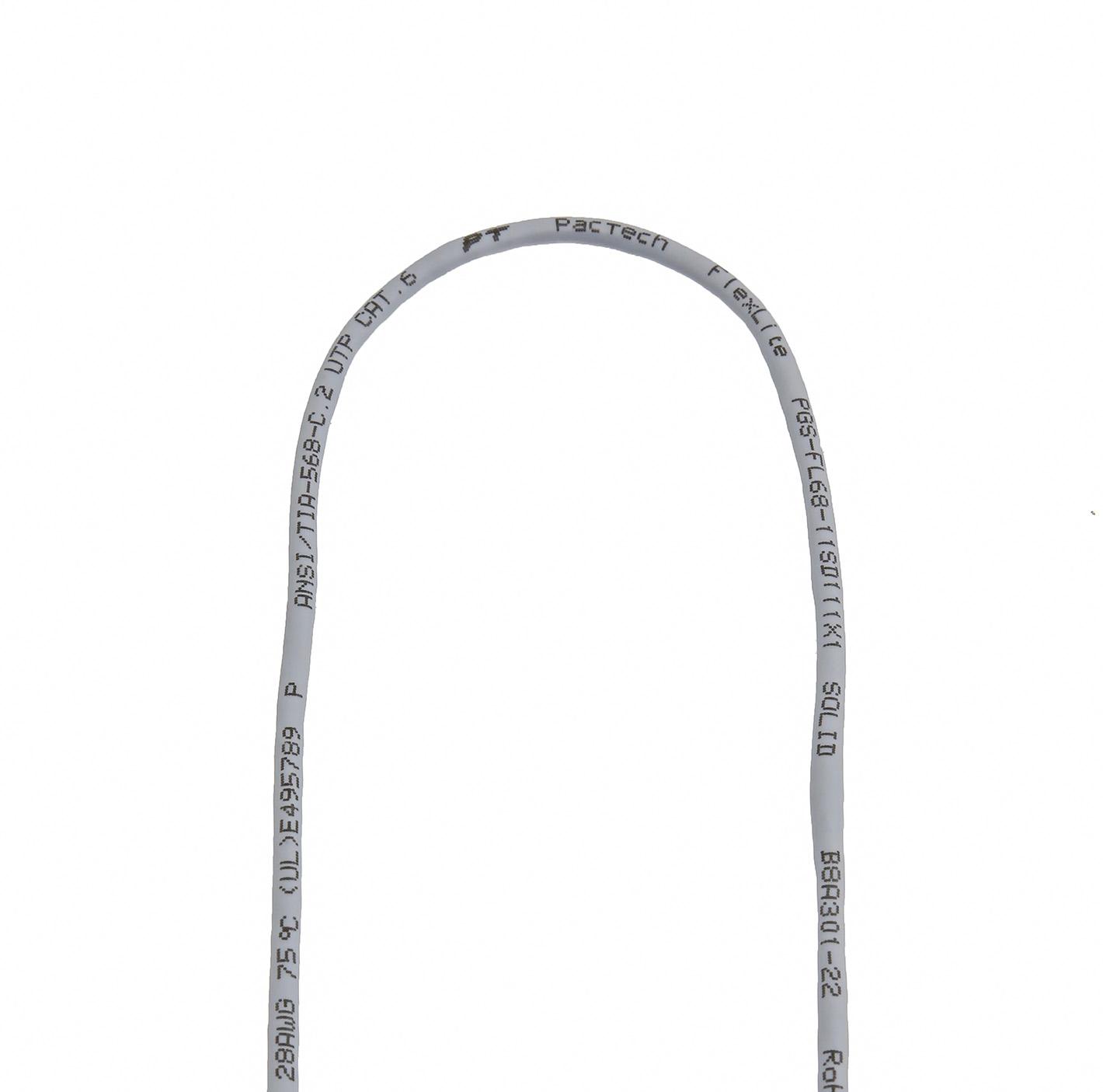 Cat6 Bulk Cable Flexlite Utp 28awg Solid Pvc Ft
