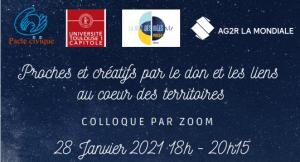 Retour vidéo sur la Nuit des Idées du 28 janvier 2021organisée par le  Pacte civique, l'Univ UT1 et AG2R LA MONDIALE