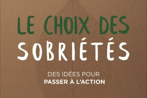 Livre «Le choix des sobriétés»