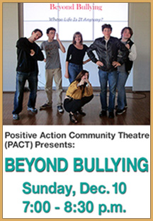 Beyond Bullying Event Flyer