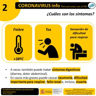 VIH_COVID19 Síntomas