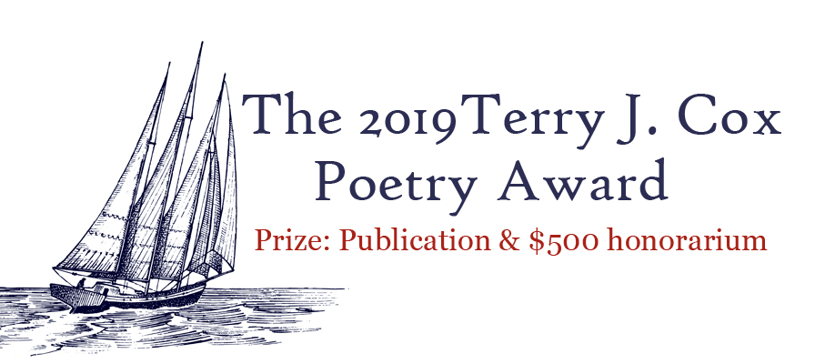 The Terry J. Cox Poetry Award, by Regal House Publishing