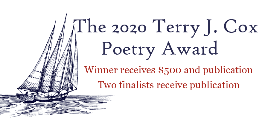 The 2020 Terry J. Cox Poetry Award