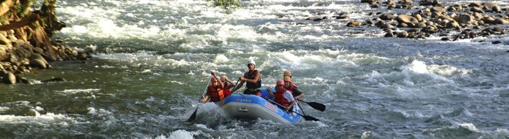Whitewater Rafting Sarapiqui River