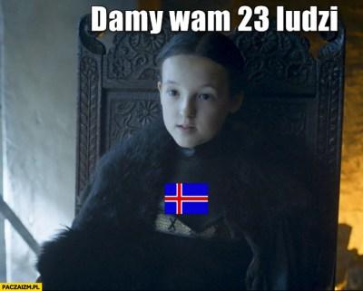 Damy wam 23 ludzi reprezentacja Islandii na Euro Gra o ...