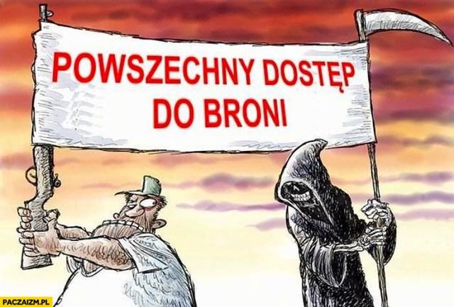 Legalizacja broni memy – Paczaizm.pl | memy polityczne, śmieszne obrazki,  dowcipy, gify i cytaty