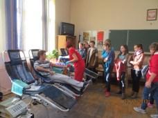 Akcja poboru krwi w paczkowskim Zespole Szkół. Foto: archiwum