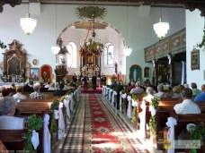 Koncert kwartetu puzonowego w kościele Św. Jerzego w Kamienicy