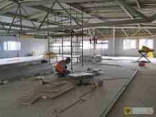 Górna kondygnacja nowego obiektu FAMAD-u przeznaczona na pomieszczenia biurowe