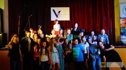 Uczestnicy warsztatów wokalnych Vocal Camp 2015. Foto: OKiR Paczków